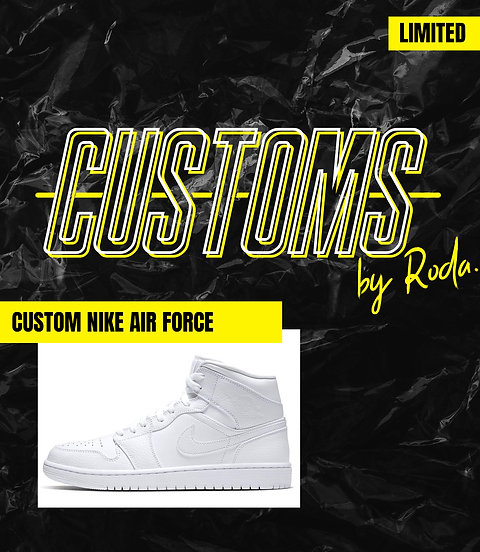 Customs shoes by Roda *SOLD OUT