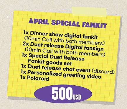 April Special Fankit