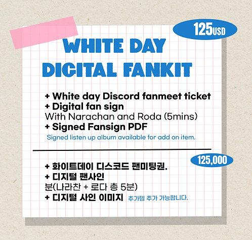 White day Digital Fankit 화이트데이팬키트