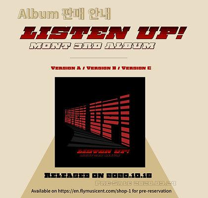 Listen Up! Official Album 앨범판매