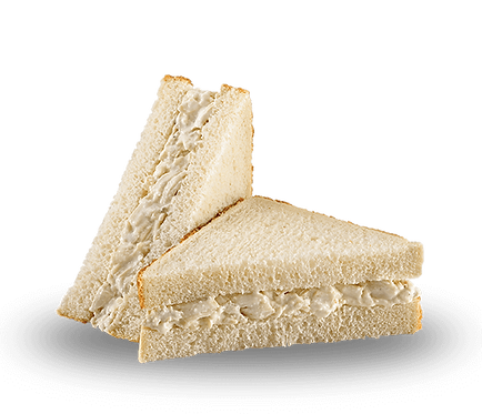 Chicken Salad Triangle White Sandwich