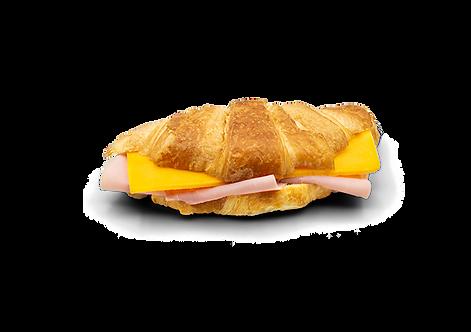 Ham Cheddar Croissant