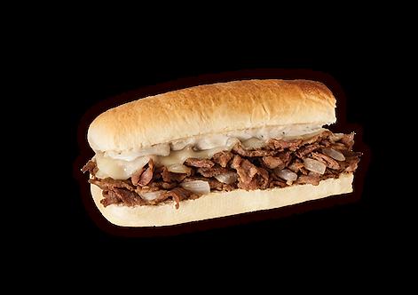 Philly Cheesesteak Sub Sandwich