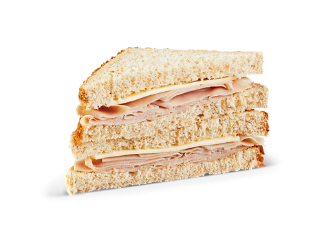 Turkey Triangle Wheat Sandwich