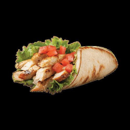 Chicken Buffalo Pita Sandwich