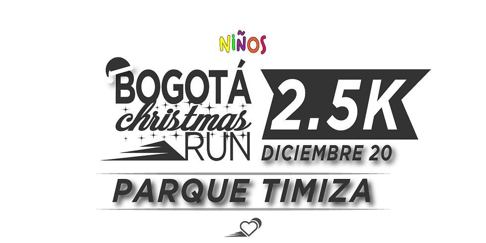 Parque Timiza - 2.5K - 20 DIC - 11:30 am - Carrera para niños hasta 16 años