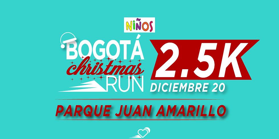 Parque Juan Amarillo - 2.5K - 20 DIC - 11:30 am - Carrera para niños hasta 16 años