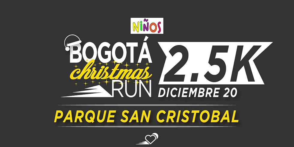 Parque San Cristóbal - 2.5K - 20 DIC - 11:30 am - Carrera para niños hasta 16 años