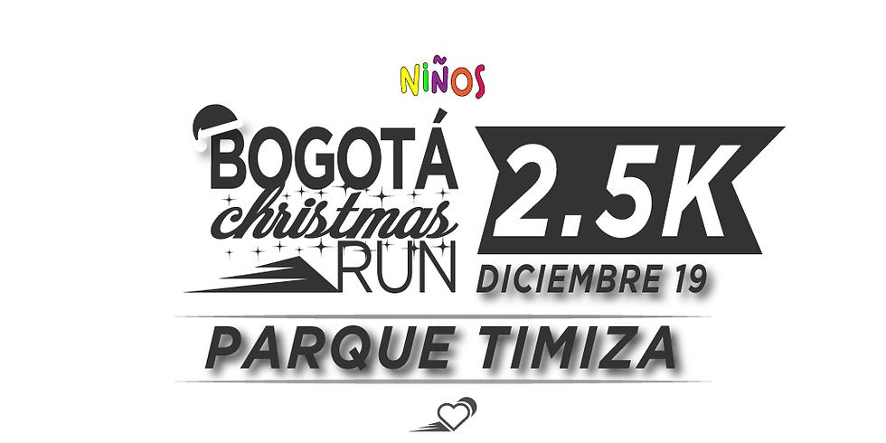 Parque Timiza - 2.5K - 19 DIC - 11:30 am - Carrera para niños hasta 16 años
