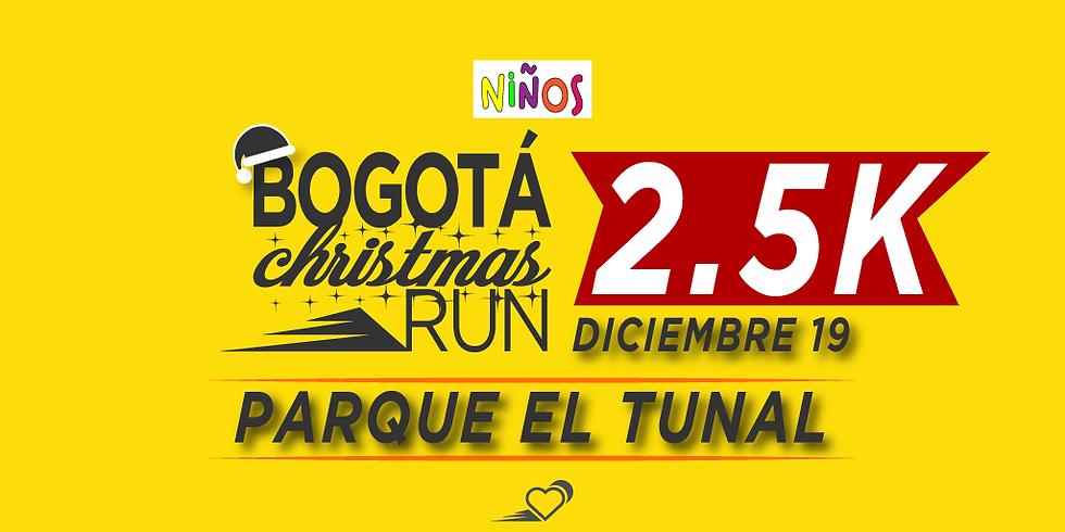 Parque El Tunal - 2.5K - 19 DIC - 11:30 am - Carrera para niños hasta 16 años