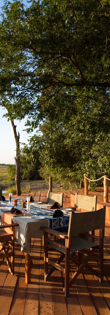 Musekese Camp advert, Kafue National Park, Zambia