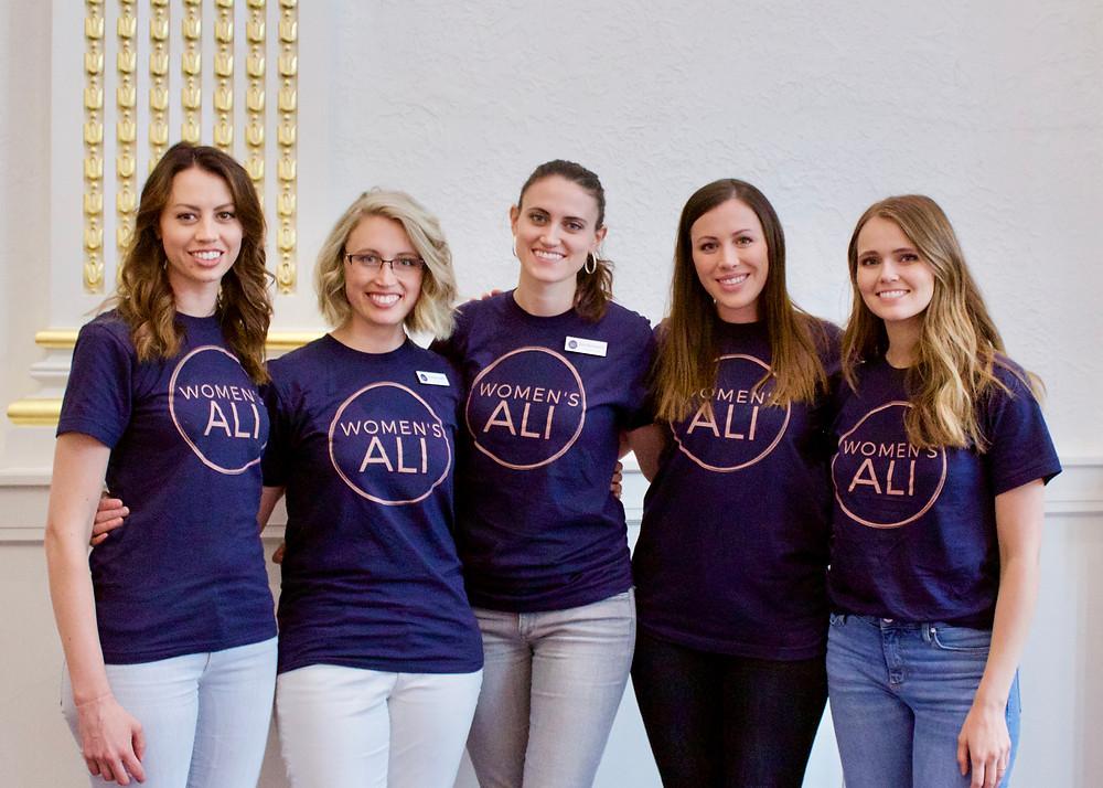 Women's ALI team members at the 2019 Summer Leadership Intensive