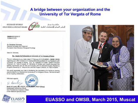 EUASSO and OMSB