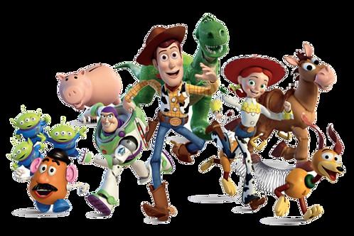 Toy Story Gang Vinyl Sticker