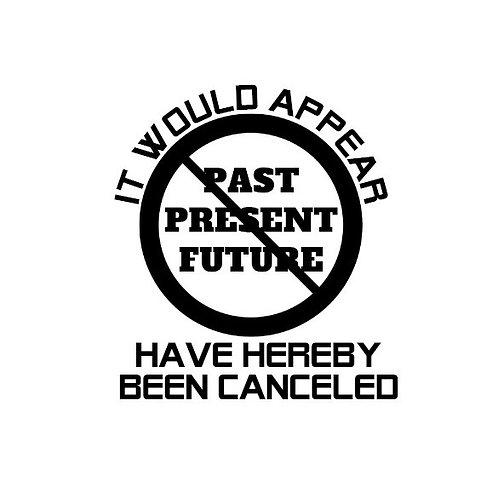 cancel culture decal