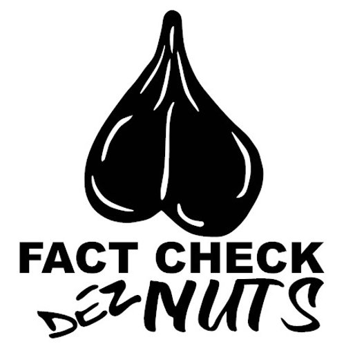 Fact Check Dez Nuts Decal