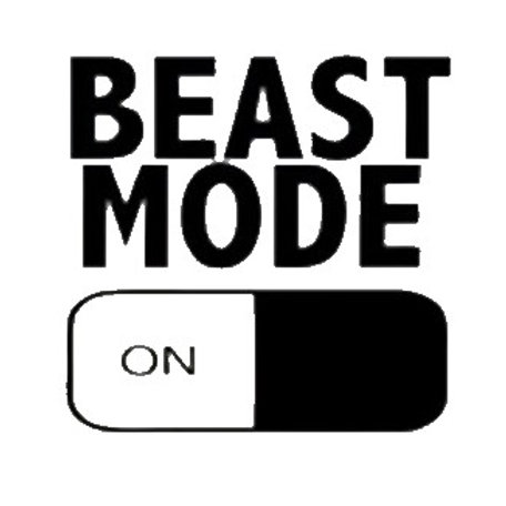 Beast Mode - ON Decal