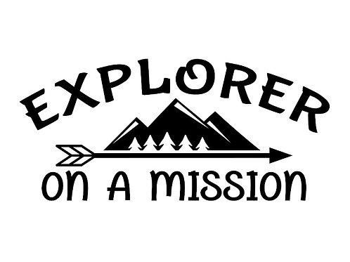 explorer decal