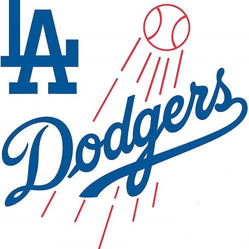Los Angeles Dodgers Vinyl Sticker