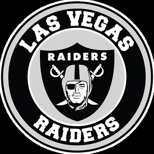 Las Vegas Raiders Vinyl Sticker