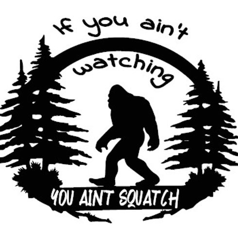 Big Foot - Sasquatch Decal