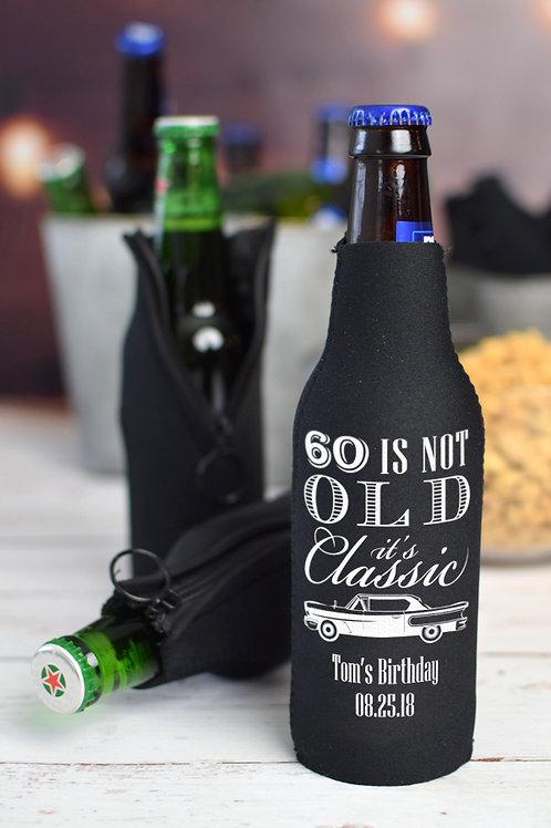 Custom / Personalized Bottle Koozie by Check Custom Design