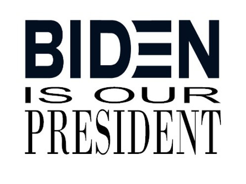 Biden is our President Decal