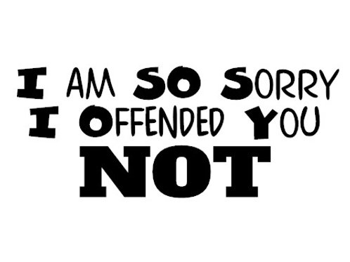 Sorry I Offended You