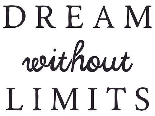 Dream Without Limits Decal