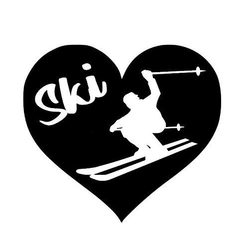 love to snow ski