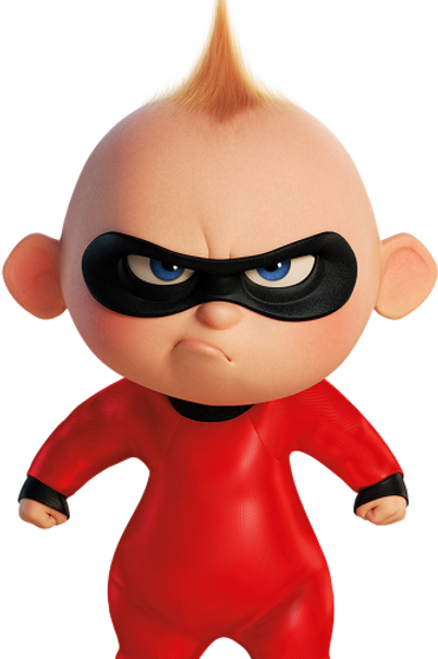 The Incredibles Baby Vinyl Sticker