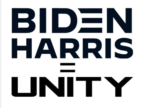 Biden Harris Equals Unity Decal