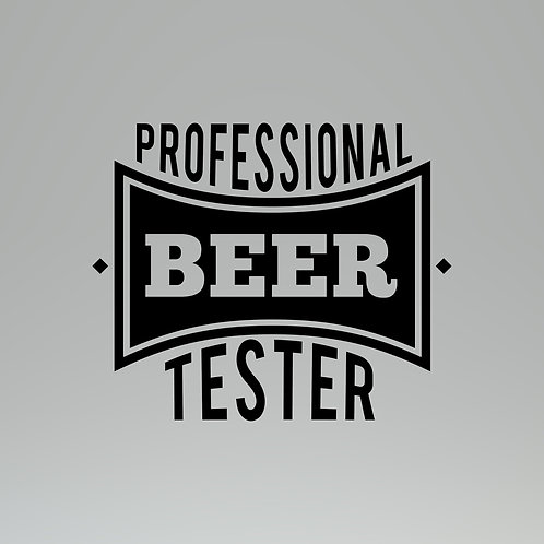 Official Beer Tester Decal