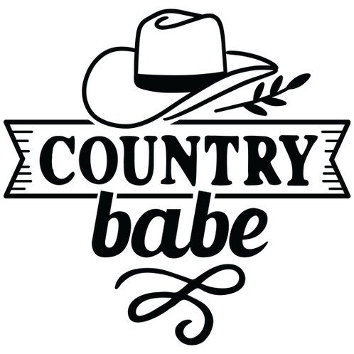 Country Babe Decal