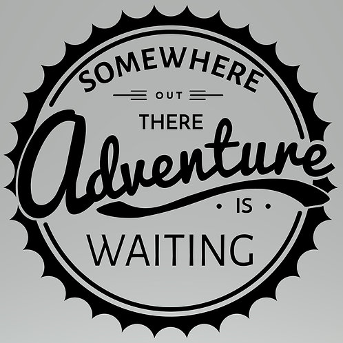 Adventure is Waiting Decal