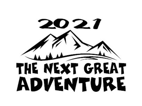 2021 The Next Great Adventure Decal