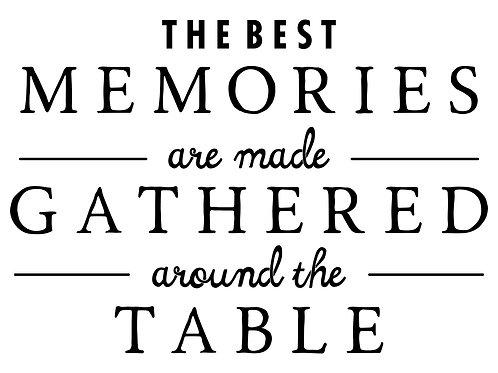 The Best Memories Decal