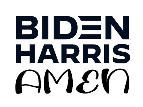 Biden Harris Amen Decal
