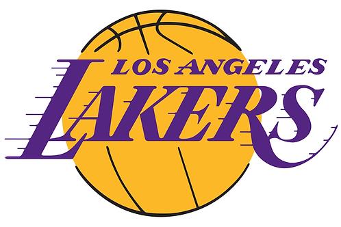 Los Angeles Lakers Vinyl Sticker
