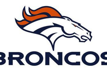 Broncos Vinyl Sticker