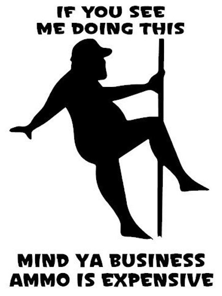Pole Dancer for Ammo Decal