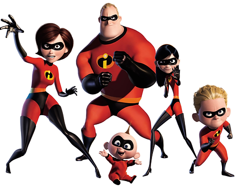 The Incredibles Vinyl Sticker