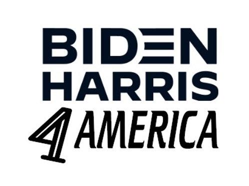 Biden Harris 4 America Decal