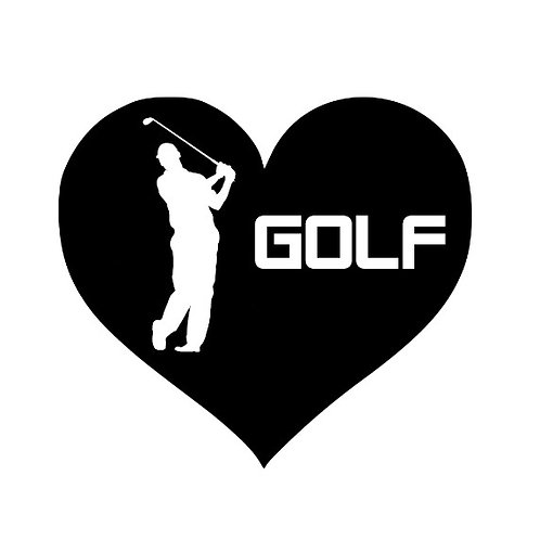 golfing heart