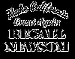 recal newsom