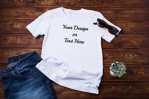 Adult Unisex Customized T-Shirt