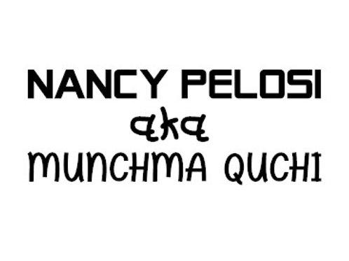 Nancy pelosi decal