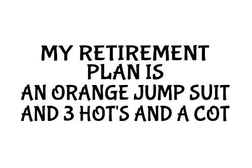 retirement decal