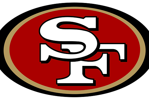 San Fransico 49ers Vinyl Sticker