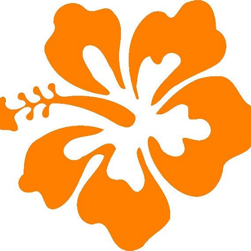Hawiian Flower Decal